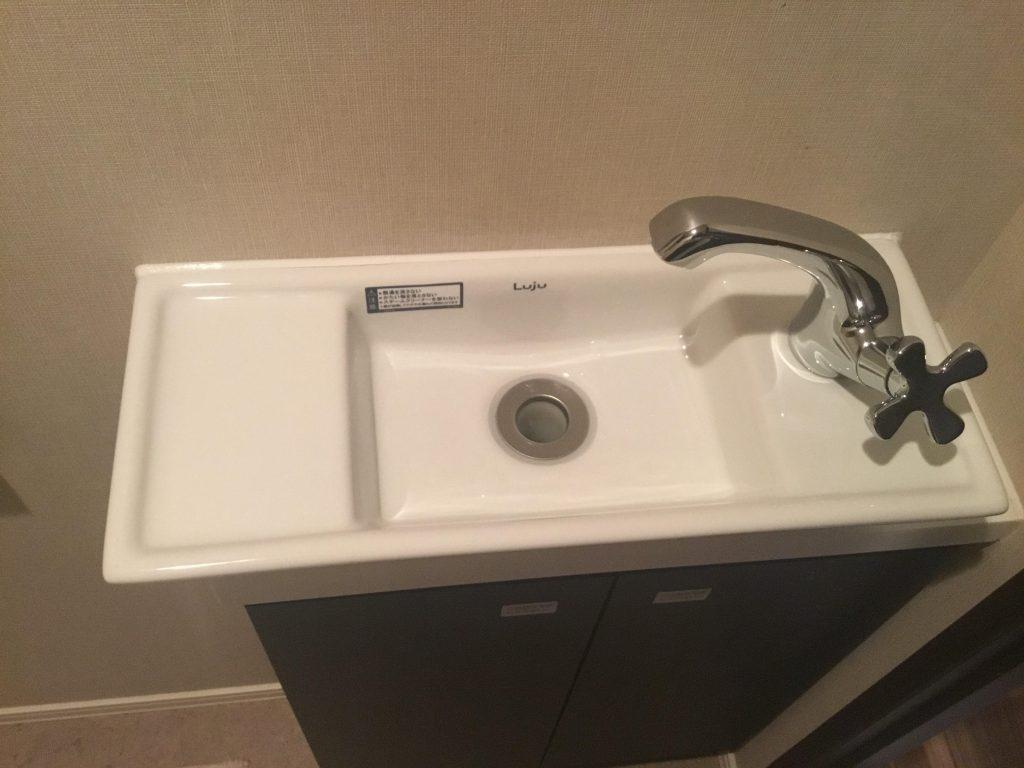 トイレ手洗器水栓交換 東京都墨田区