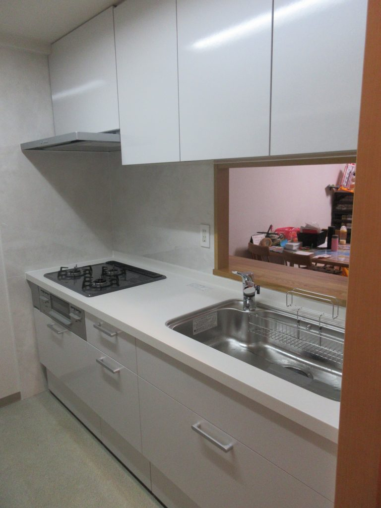 江東区のマンションすっきりキッチン♪