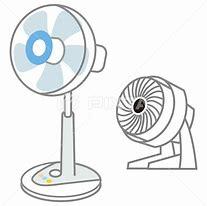 扇風機とサーキュレーター