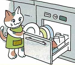 食洗器の工事です ~既存のキッチンに、後付けビルトイン型食洗器~