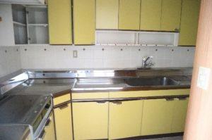 江戸川区K様邸の施工事例⑤オープンキッチン
