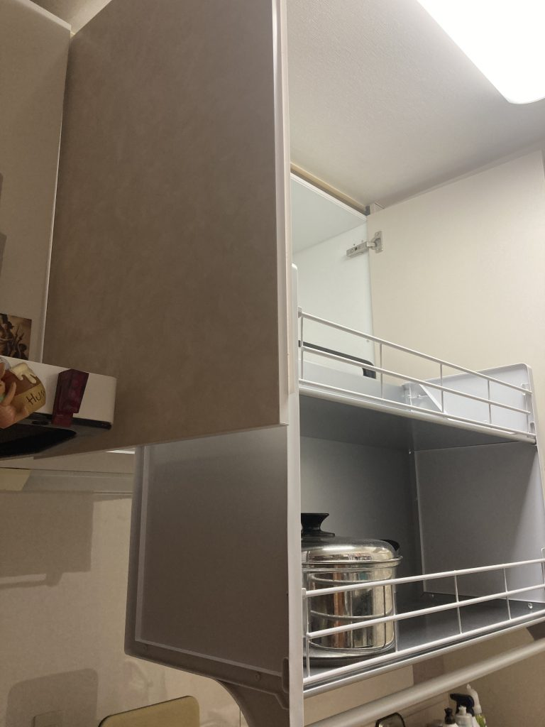 収納・キッチン部分リフォーム  東京都江戸川区