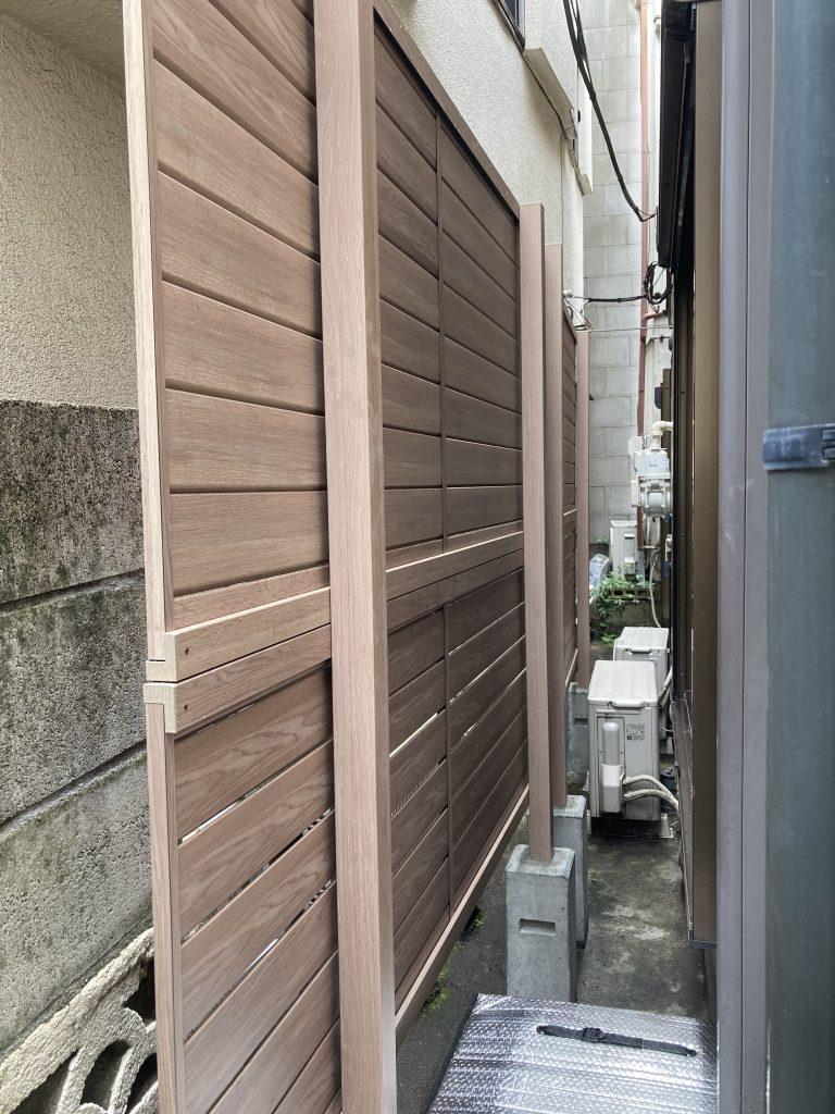 フェンス設置リフォーム 東京都墨田区